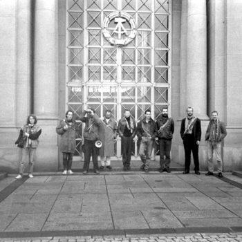 4. November 1989: Vor dem Staatsrat