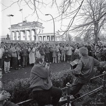 Berliner Mauer und Brandenburger Tor