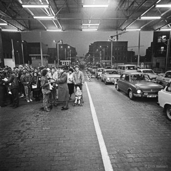 Grenzübergang am Checkpoint Charlie